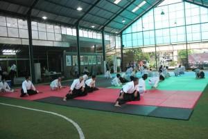 Gashuku 2015-latihan aikido di jogja